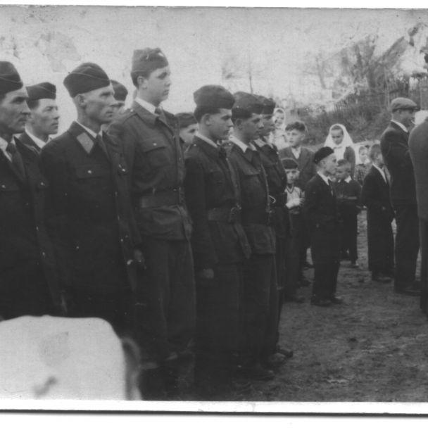 Historické snímky DHZ Koválovec