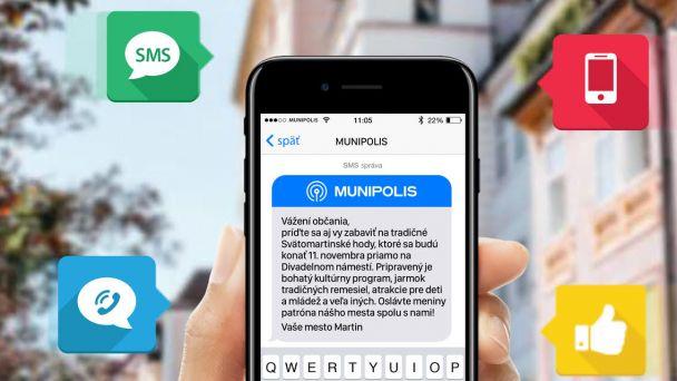 Mobilná aplikácia Munipolis